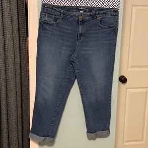 Style & Co curvy ankle jeans